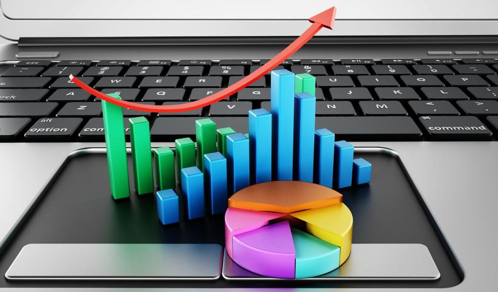 Bild zeigt Symbole für Statistiken